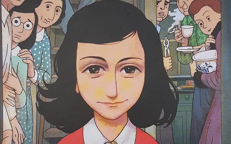 Anne-frank-graphic-novel readers high tea