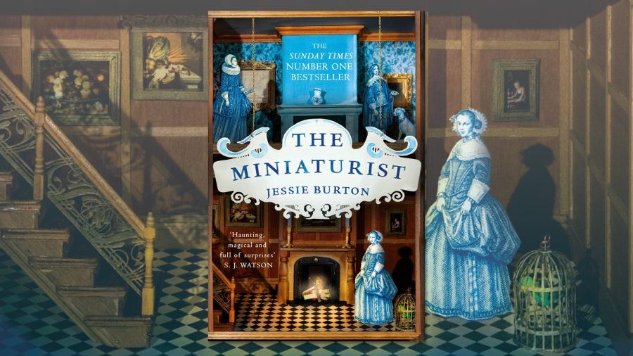 The Miniaturist by Jessie Burton book cover illustration